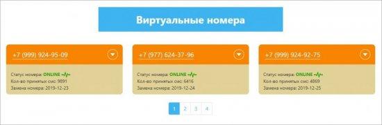 виртуальные номера
