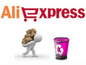 Удаление аккаунта на Алиэкспресс